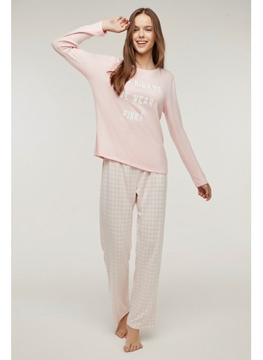 Penti Pink Friday Termal Pijama Takımı Pembe